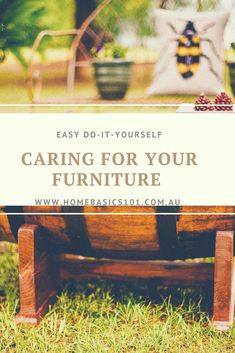 Looking for tips on how to look after your outdoor furniture... We're here to help@