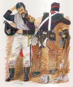 Sottotenente ingegnere e volteggiatore del 39 rgt. fanteria di linea francese