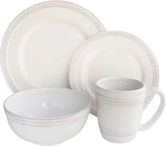 You'll love the 16-Piece Renee Dinnerware Set at Wayfair - Great Deals on all Kitchen & Dining  products with Free Shipping on most stuff, even the big stuff.