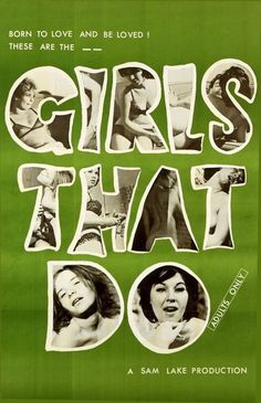 Girls That Do, movie poster  Source: X-Rated
