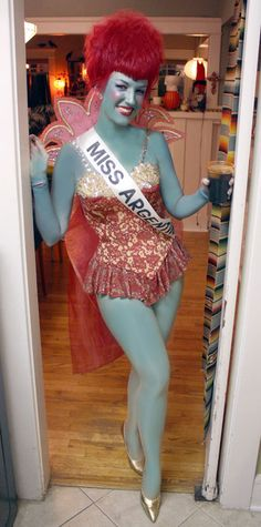 Miss Argentina. This costume has been on my list for so many years.  sc 1 st  Pinterest & Miss Dead Receptionist aka u0027Miss Argentinau0027 Costume. $49. How cool ...