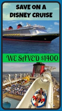 Save Money On A Disney Cruise!!!