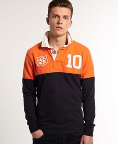 Superdry Super Scrum Rugby Shirt - Mens Superdry - Rugby