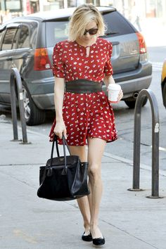 Sienna Miller's Little Print Dress.