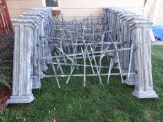 82 best halloween columns fences images on pinterest halloween