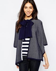Jack Wills knitted cape