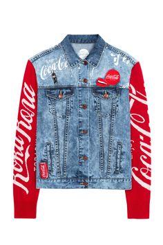 Women's Denim Jacket - Coca-Cola | Desigual.com