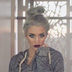 I want grey hair!