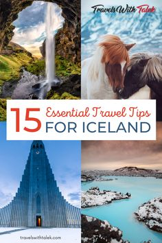 Learn cool and useful tips about travel in Iceland to know before you go. We cover where to eat, what to see, and even how to behave in an Icelandic thermal bath. Iceland Travel Tips, Travelling Tips, Europe Travel Tips, Travel Hacks, Travel Guides, Traveling, European Vacation, European Travel, Beautiful Places To Visit