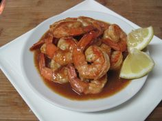 Barbecued Creole Shrimp and Creole Seasoning (Dukan) (R)