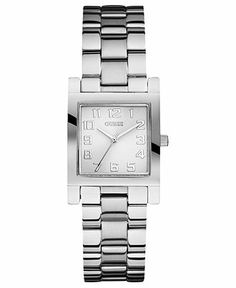 GUESS Watch, Women's Stainless Steel Bracelet 28mm U0131L1 - Watches - Jewelry & Watches - Macy's  100