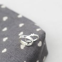 Tiny Heart Couples Ring | Couples Rings | Couples Promise Rings