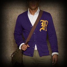 ラルフローレンラグビー メンズ ニット Ralph Lauren Rugby Large R Varsity Cardigan カーディガン-アバクロ 通販 ショップ-【I.T.SHOP】