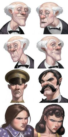 Kill Dr Lucky expressions by ~namesjames on deviantART