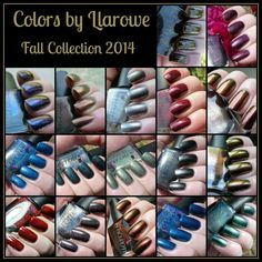 Colors by Llarowe- Fall Collection 2014 Preview | Pointless Cafe