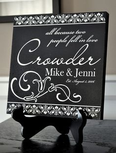 Beautiful Granite Engraved Gift