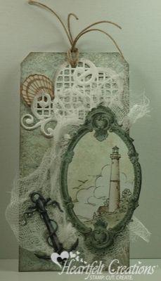 Heartfelt Creations | Lighthouse Tag
