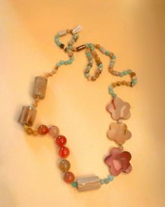 Collar piedras naturales.http://marberaltabisuteria.mitiendy.com/categorias/collares