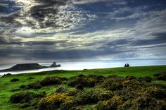"""Wales-Looking at """"Worm's Head"""" by Francesco Cetta on 500px"""