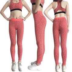 Yel yeni kız spor uzun yoga pantolon kadın spor pantolon sıska seksi spor sıkı tayt logo özel sıkıştırma koşu pantolon
