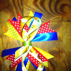 Back to school bow :)