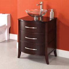 Found it at Wayfair - Lola Single Bathroom Vanity Set Vanity Cabinet, Vanity Sink, Bath Vanities, 24 Inch Bathroom Vanity, Bathroom Vanities, Bathrooms, Powder Room Design, Shaker Doors, All Modern