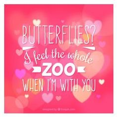 Butterflies? I Get The Whole Zoo!