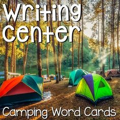 Writing Center Word Cards Throughout the school year, I change my writing center to have word cards that reflect our unit of study or theme. My kids love using word cards to write stories or about things they are learning in the classroom. Tribal Theme, Vocabulary Building, Theme Days, Camping Theme, Summer School, Writing Activities, Classroom, Teaching, Words
