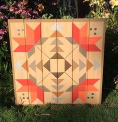 Sunburst  American Garden Barn Quilts | barn quilts | Pinterest ... : quilt barn signs - Adamdwight.com