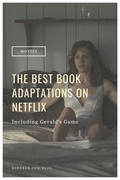 The ultimate list of book adaptations on Netflix including adaptations of classic books like Stephen King's Gerald's Game. Gerald's Game, Good Books, Books To Read, Books Everyone Should Read, Books A Million, Types Of Books, Game Quotes, Thriller Books, Mystery Books