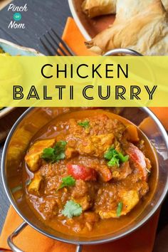 I'm a bit picky when it comes to Indian curries. The two that I really like are Balti and Butter Chicken. This is our slimming friendly Chicken Balti Curry. Indian Food Recipes, Asian Recipes, New Recipes, Cooking Recipes, Healthy Recipes, Croatian Recipes, Hungarian Recipes, Cleaning Recipes, Bread Recipes