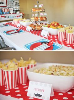 Little Man Mustache Bash {First Birthday} // Hostess with the Mostess®