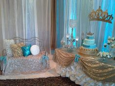 Blue Prince baby shower décor ideas www.MadamPaloozaEmporium.com www.facebook.com/MadamPalooza
