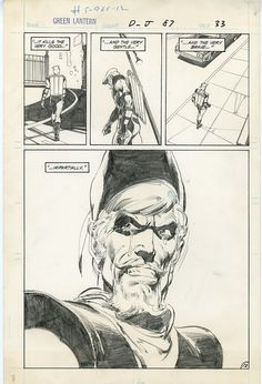 """Green Lantern #87's Green Arrow back up story """"What One Man Can Do,"""" Page 12 by Neal Adams."""