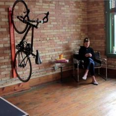 bivi wall mounted bike hook | Turnstone