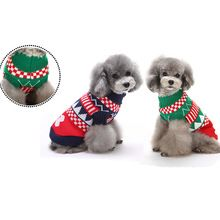 2016 New Arrival Pet Supplies Dog Sweater Clothes Christmas dog clothes For Festival XS S M L XL XXL Size Free Shipping(China (Mainland))