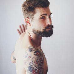 Beard + mustache
