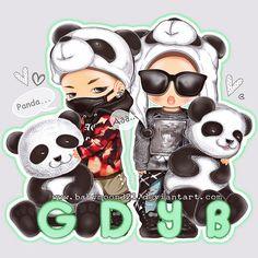 #GD #YB (and #Seungri LOL) ♥