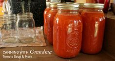 Yummy Basic Canned Tomato Soup: Can be used in homemade chili, sauces, stews, soups, etc. | Bringing Design Home