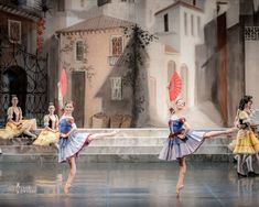 Ekaterina Ivanova and Elena Solomyanko as Kitri's friends in Don Quixote Don Quixote, Ballet Photos, Music Theater, Ballet Photography, Ballet Costumes, Dance Pictures, Friends, Tutus, Amigos