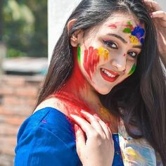 Saree Models, Carnival, Photo And Video, Videos, Face, Painting, Instagram, Photos, Pictures