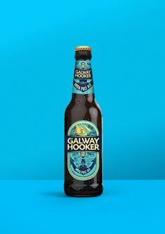 Galway Hooker 60 Knots — The Dieline - Branding & Packaging  #craftbeer #beer