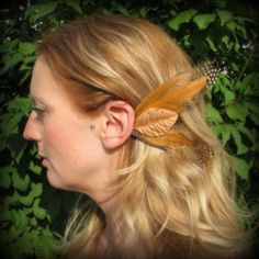 Elf Ear Cuffs Fairy Wings Woodland Bird Wings by SameSkyWings, $12.00