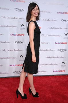 Rebecca Hall arrives at The Los Angeles Premiere of 'Vicky Cristina Barcelona' at the Mann Village Theatre on August 4 2008 in Westwood California