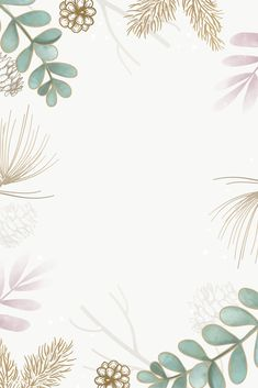 Flowery Background, Gold Wallpaper Background, Flower Background Wallpaper, Flower Phone Wallpaper, Plant Wallpaper, Pastel Wallpaper, Cute Wallpaper Backgrounds, Frame Background, Cute Patterns Wallpaper