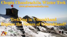 #Chopta_Chandrashila_Trek - #Trek_to_Tungnath_Chopta_in_Garhwal_Himalayas #Chopta is a small region of meadows and evergreen forest area which is a part of #kedarnath wildlife sanctuary located in #Uttarakhand state, India and a base for #trekking_to_Tungnath, third temple of #Panch_Kedar, which lies 3.5 kilometres away. Located at a distance of 1.5 kilometres from #Tungnath_is_Chandrashila, a rising to over 4,000 metres. Visit us at: http://adventureatindia.com/trekking-in-uttarakhand.html