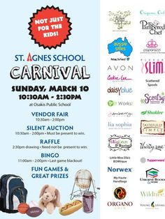 School Carnival Fundraiser - Carnivals are the perfect fun fundraising event for schools.