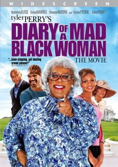 Diary of a Mad Black Woman is a 2005 romantic comedy-drama film written by and starring Tyler Perry