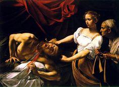 Giuditta e Oloferne - 1598  Huile sur toile - 145 x 195 cm  Palais Barberini - Rome