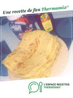 Msemen (crèpes feuilletées) par Prispris. Une recette de fan à retrouver dans la catégorie Pâtisseries sucrées sur www.espace-recettes.fr, de Thermomix<sup>®</sup>.